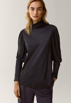Massimo Dutti - Long sleeved top - grey