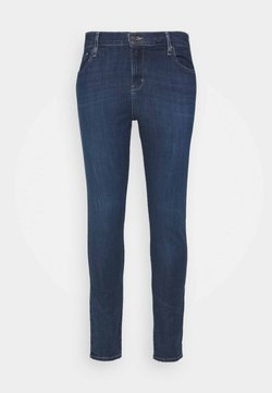 Levi's® Plus - HI RISE - Jeans Skinny Fit - dark-blue denim