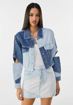Bershka - Giacca di jeans - blue denim