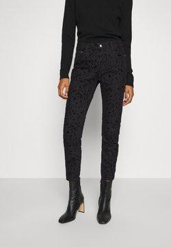 Desigual - PANT WALLPAPER - Jean slim - black