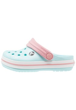 Crocs - CROCBAND RELAXED FIT - Badslippers - ice blue/white
