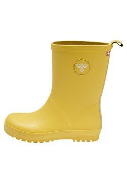 Hummel - RUBBER BOOT JR. - Gummistøvler - yellow