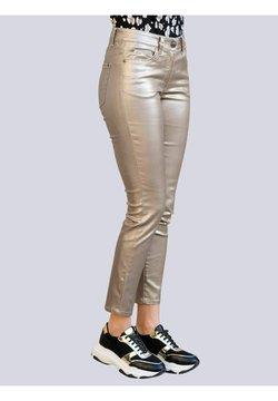 Alba Moda - Jeans Slim Fit - taupe,goldfarben