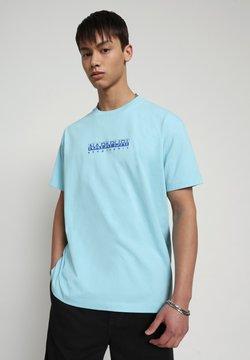 Napapijri - BEATNIK - T-shirt print - green plume