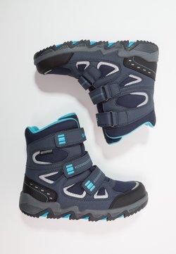 Hi-Tec - THUNDER WP  - Outdoorschoenen - navy/turquoise/black