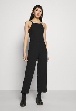 Even&Odd - BASIC - Jumpsuit - Haalari - black