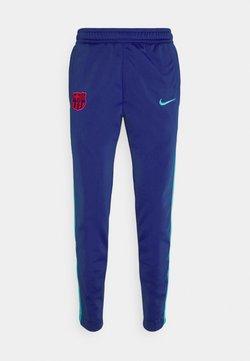 Nike Performance - FC BARCELONA PANT TAPE - Equipación de clubes - deep royal blue/oracle aqua