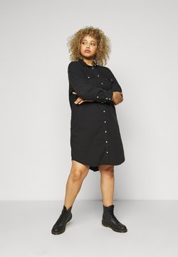 Levi's® Plus - WESTERN DRESS - Farkkumekko - black book