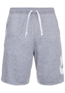 Nike Sportswear - ALUMNI - Jogginghose - grey/white