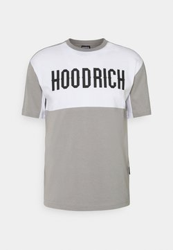 Hoodrich - OG BLOCK - T-shirt print - grey/light grey