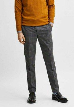 Selected Homme - SLIM FIT  - Anzughose - grey