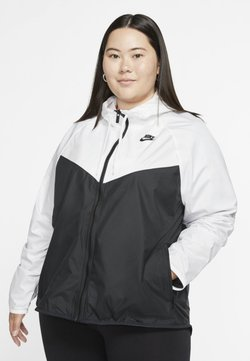 Nike Sportswear - PLUS - Summer jacket - white/black