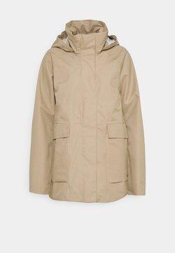 Didriksons - Regenjacke / wasserabweisende Jacke - beige