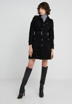 STUDIO ID - VIRGINIA TRENCH - Leren jas - black