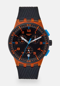 Swatch - YELLOW TIRE - Montre à aiguilles - orange