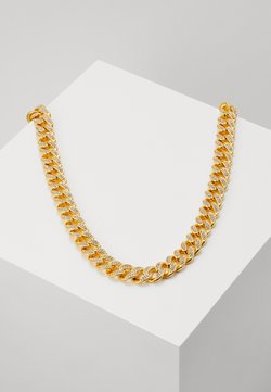 Vintage Supply - STONE CHAIN - Necklace - gold-coloured