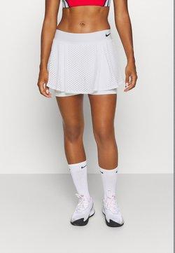 Nike Performance - DRY SKIRT - Sportkjol - white/black