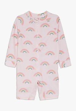 Cotton On - HARRIS ONE PIECE BABY - Uimapuku - barely pink rainbow dreams