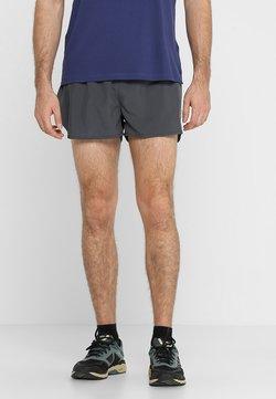 ASICS - SILVER SPLIT SHORT - Pantalón corto de deporte - dark grey