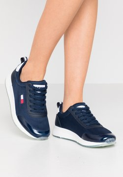 Tommy Jeans - FLEXI RUNNER - Sneakers laag - twilight navy