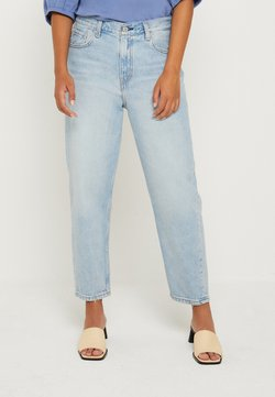 Levi's® - LOOSE TAPER CROP - Jeans baggy - middle road