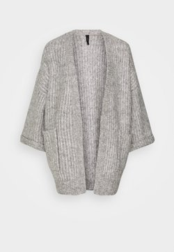 YAS - YASSUNDAY CARDIGAN - Neuletakki - light grey