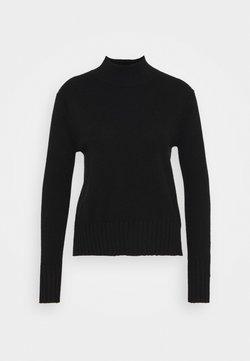 J.CREW - CASH MOCKNECK - Pullover - black