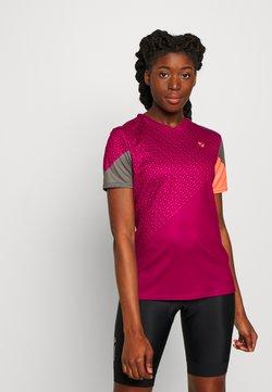 Ziener - NISHI - T-Shirt print - cassis