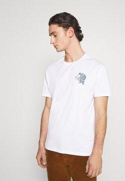 YOURTURN - UNISEX - T-shirt z nadrukiem - white