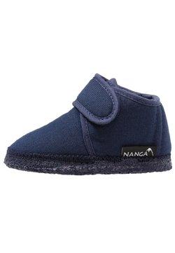 Nanga - LUNA UNISEX - Tofflor & inneskor - blau