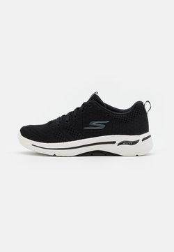 Skechers Performance - GO WALK ARCH FIT - Scarpe da camminata - black/white