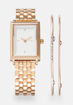 Anna Field - SET - Klocka - rose gold-coloured/white