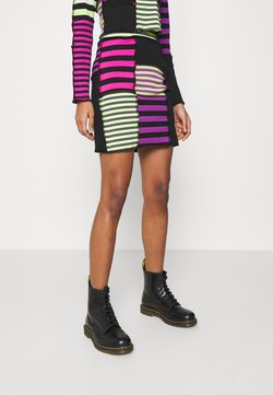 The Ragged Priest - DAMAGE SKIRT - Minirock - multi-coloured