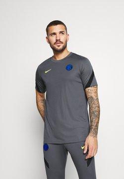 Nike Performance - INTER MAILAND - Squadra - dark grey/black/tour yellow