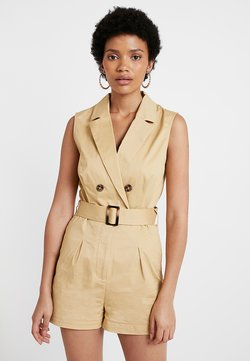 Nly by Nelly - SAFARI PLAYSUIT - Combinaison - beige