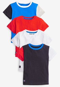 Next - 4 PACK - T-shirt med print - multi-coloured