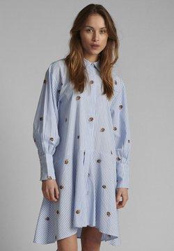 Nümph - NUDAHLIA  - Vestido camisero - blue stripe