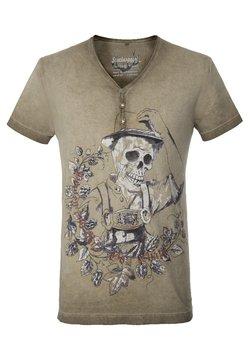 Stockerpoint - OSKAR - T-Shirt print - sand