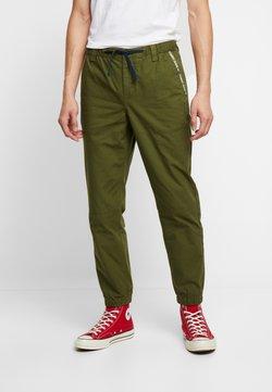 Tommy Jeans - PIECED JOG PANT - Jogginghose - cypress