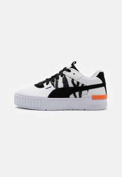 Puma - CALI SPORT CATS - Baskets basses - white/black