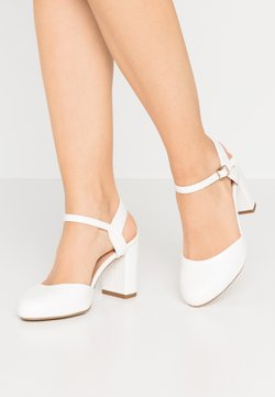 New Look Wide Fit - WIDE FIT SHUTTER  - High Heel Pumps - white