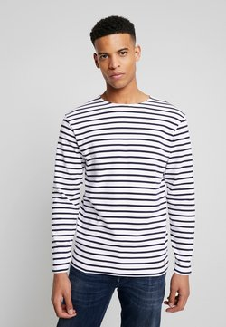 Armor lux - HOUAT MARINIÈRE - Sweatshirt - white / blue