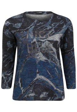 DORIS STREICH - SWEATSHIRT NICE BLUE - Sweatshirt - jeansblau