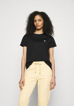 Opus - SERZ - T-Shirt basic - black