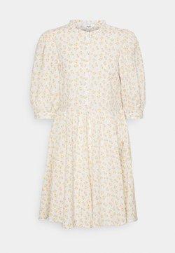 Object - OBJBAREEN DRESS  - Blusenkleid - sandshell/shrimp