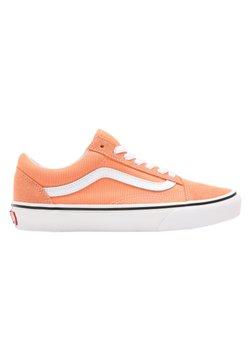 Vans - OLD SKOOL - Sneakers laag - cadmium orange/true white