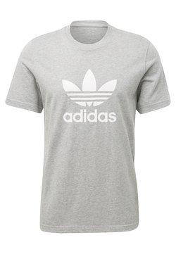 adidas Originals - TREFOIL UNISEX - T-Shirt print - medium grey heather