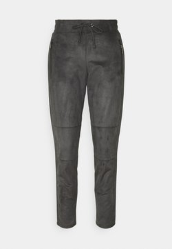 s.Oliver BLACK LABEL - HOSE 7/8 - Stoffhose - grey