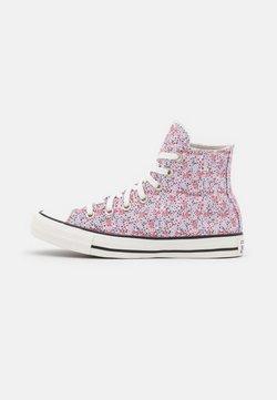 Converse - CHUCK TAYLOR ALL STAR - Korkeavartiset tennarit - vintage white/pink foam/infinite lilac