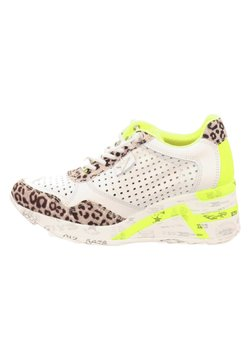 Cetti - Sneaker low - baby leopard grey white